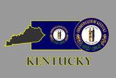 Kentucky — Stock Vector