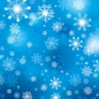 Vector de stock : Snowflakes background
