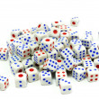 Stock Photo: White dice