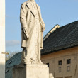 Stock Photo: Andrej Kmet statue in BanskStiavnica