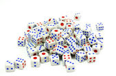 White dice — Stockfoto