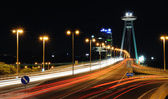 Night in Bratislava — Stock Photo