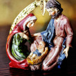 Holy Family - Mary, Joseph and Jesus — Stock Photo