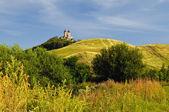 Autumn Calvary in Banska Stiavnica, Slovakia Unesco — Stock Photo