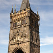 Old Town Bridge Tower in Prague - Stock Photo
