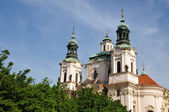 The Church of St. Nicholas in Prague, Czech Republic — Stock Photo
