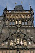 Old Town Bridge Tower in Prague — Stock Photo