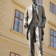 Bronze Statue of Thomas Garrigue Masaryk — Stock Photo