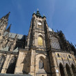 Prague - St. Vitus Cathedral in Hradcany — Stock Photo