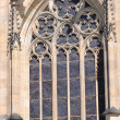 Detail Prague St. Vitus Cathedral in Hradcany — Stockfoto