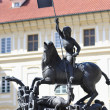 Saint George statue, Prague — Stock Photo