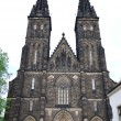 Stock Photo: Church of St Peter and St Paul in Vysehrad castle in Prague