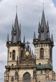 The Church of Mother of God before Tyn, Prague — Stock Photo