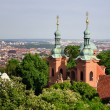 Church of Saint Vavrinec from Petrin Hill — Stock Photo #19814863