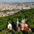 Church of Saint Vavrinec from Petrin Hill — Stock Photo #19816467