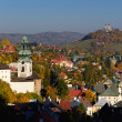Banska Stiavnica in autumn, Slovakia - Foto de Stock  