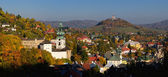 Banska Stiavnica in autumn, Slovakia — Stock Photo