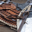 Stock Photo: Medieval military equipment