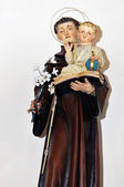 Statue of Saint Anthony of Padua — Stock Photo