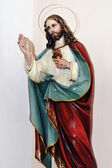 Sacred Heart of Jesus — 图库照片