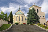 Krupina Roman Catholic Church of the Blessed Virgin Mary — Stock Photo