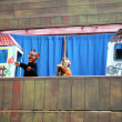 Puppet theater for events — Stock Photo