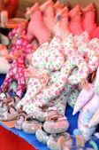 декоративные подушки кошки — Стоковое фото