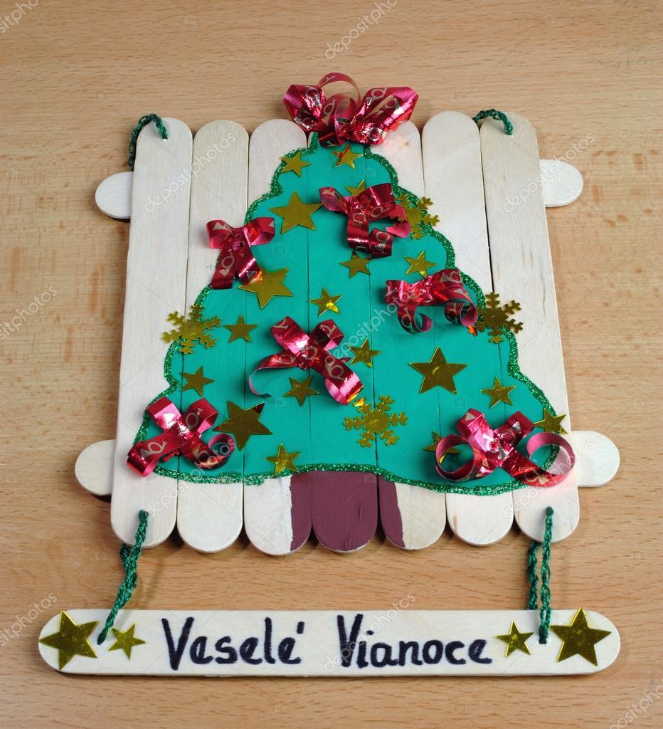 Adornos navide os hechos a mano foto de stock 33921847 - Adornos de navidad hechos a mano por ninos ...