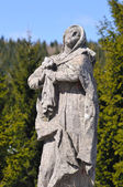 Mary Mother of Jesus, Horna roven Calvary — Stock Photo