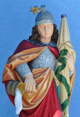 St. Florian patron saint of firefighters — Foto Stock