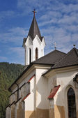Protestant church in the Kralova Lehota — Stock Photo