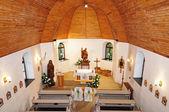 Interior church in Jergystolna — Stock Photo