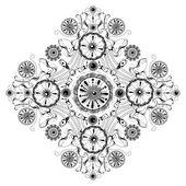 Ilustração em vetor ornamentais vintage — Vetorial Stock