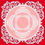Frame lace-like — Stock Photo #24217963