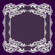Stockfoto: Frame lace-like