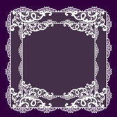 Frame lace-like — Photo