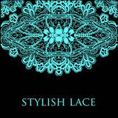 Lace vector design — Stock Vector