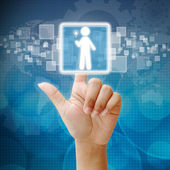 Volba správné osobě zaměstnance pro podnikání — Stock fotografie