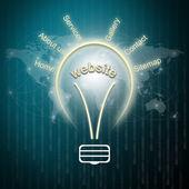 Webbplats planering koncept — Stockfoto