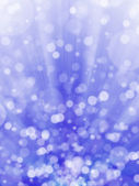Blue bokeh abstract light background — Stock Photo