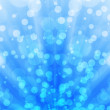 Abstract blue background bokeh light pattern — Stock Photo #19016481