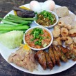 Hors-d'oeuvre ,Thai food Northern style — Stock Photo