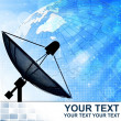 Stock Photo: Satellite dish for Communication and technology ,Abstract business background