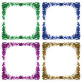 Abstract farme watercolor background — Stock Photo