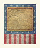 U.S.A. Flag for July 4th, Labor Day for Vintage — Stock Photo