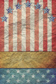 U.S.A. Flag for July 4th, Labor Day — Stock Photo