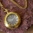 Stock Photo: Gold Pocket Watch