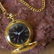 Gold Pocket Watch — Photo