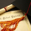 High School Diploma — Stock Photo