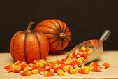 Halloween Candy Scene — Stock Photo